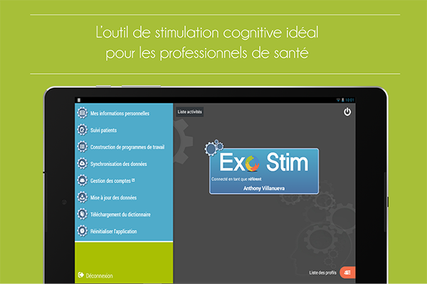stimulation cognitive-application d'entrainement cognitif-application cognitive-jeux de memoire-maladies neurodegeneratives-exercices de memoire